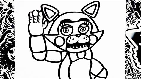 Five Nights At Candys Coloring Pages Color Bros