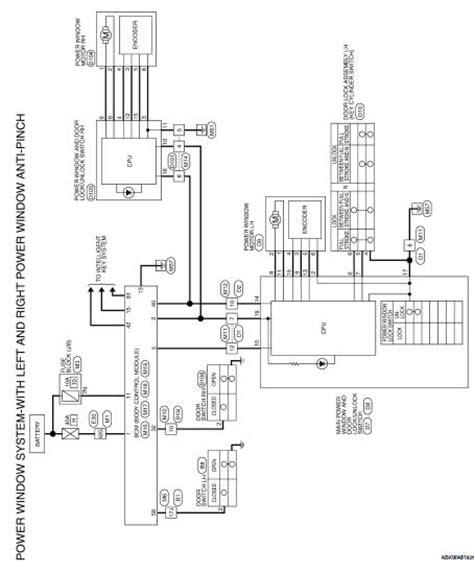 Nissan Altima Service Manual Power Window Main