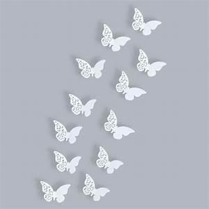 3d Schmetterlinge Wand : schmetterlinge 3d wanddekoration 3 d wandtattoo wanddeko wandtattoos wand deko ebay ~ Whattoseeinmadrid.com Haus und Dekorationen