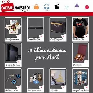 10 Ides De Cadeaux De Noel Le Maestro Blog