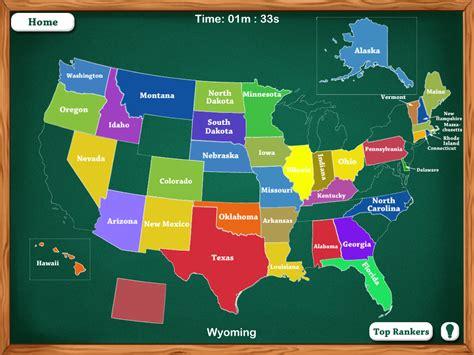 states map game