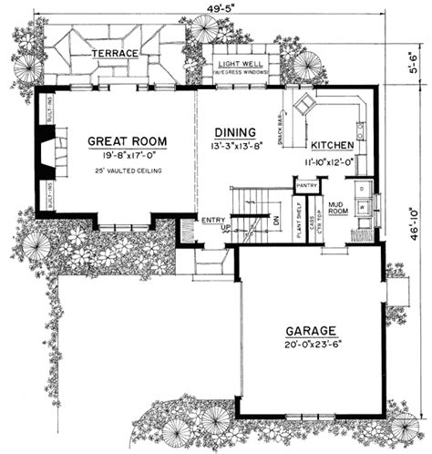 Cottage Homes Floor Plans by Style Cottage 43045pf Architectural