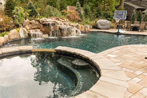 rivervale nj custom inground swimming pool design