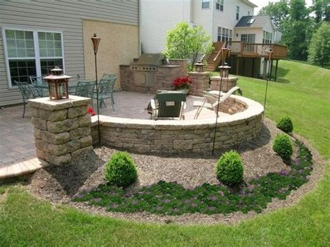 patio walk out basement design curved wall would