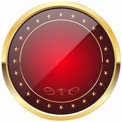 Transparent Gold Badge Template Clip Shield Vector