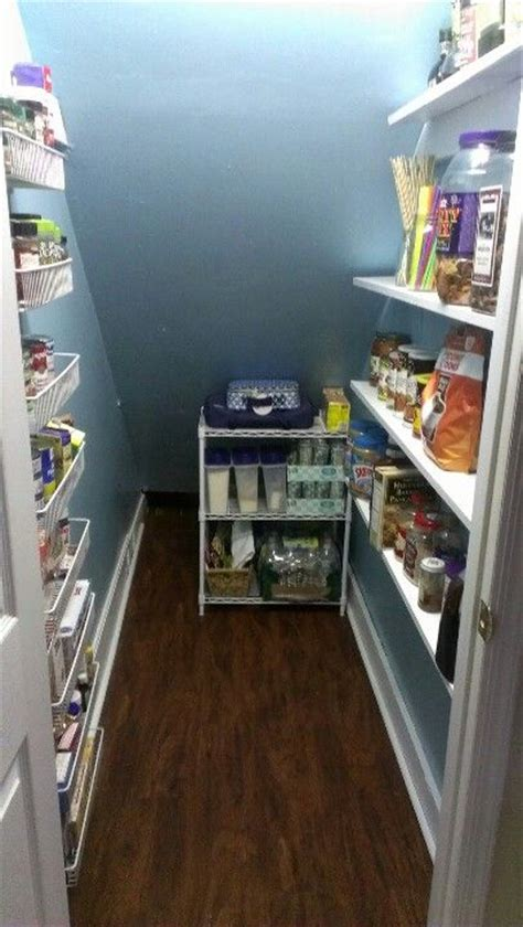 the stairs closet organization closet under stairs pantry almost finished design that i love pinterest