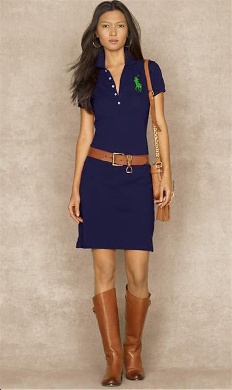 Polo Dress Navy Ralph Lauren | Outfit Ideas | Pinterest