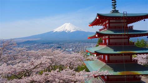 japanese style pagoda   storey called chureito