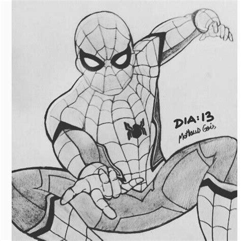 Kleurplaat Homecoming dia 13 comic quadrinhos homemaranha
