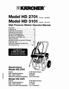 Karcher Pressure Washer Wiring Diagram