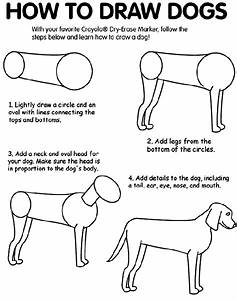 How to Draw Dogs Coloring Page | crayola.com