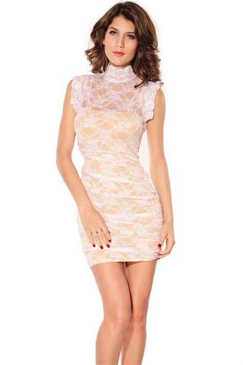 Sexy plus size white dress   All women dresses