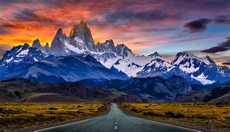 Mount Fitzroy Mountains Mountain Patagonia South America
