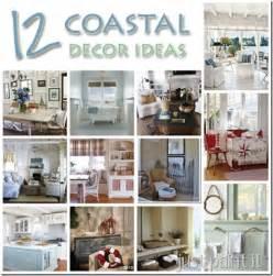 Beach Themed Bathroom Decorating Ideas by Coastal D 233 Cor Ideas Just Paint It Blog