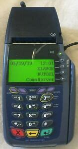 Shop staples® for credit card readers. Verifone VX610 Credit Card Chip Reader w/ Power Supply, Battery, & Paper   eBay