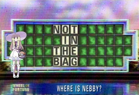 Nebby Memes - buy a vowel get in the bag nebby know your meme