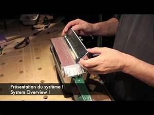 Ponceuse à Bande Stationnaire : video 260 ponceuse bande stationnaire youtube ~ Premium-room.com Idées de Décoration
