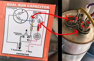 Run Capacitor Wiring