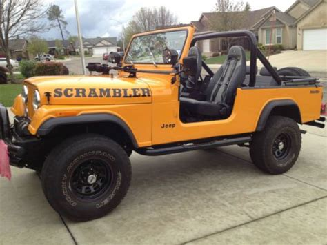 jeep scrambler 1982 buy new jeep scrambler 1982 cj8 extras in redding