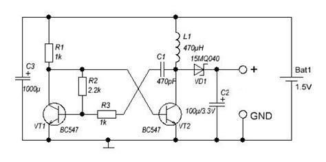dc dc converter    schematiccircuit diagram world