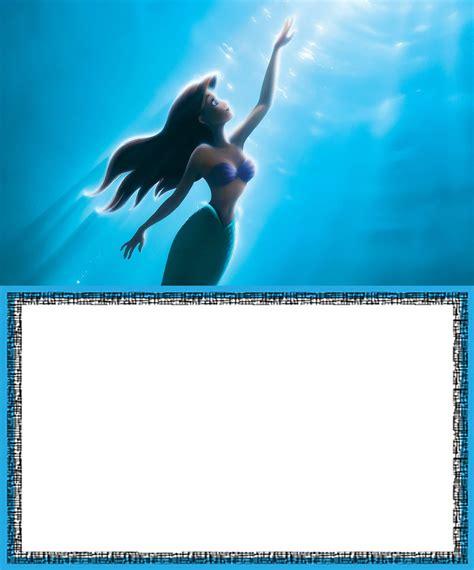 Mermaid Template Mermaid Free Printable Invitation Templates