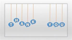 Animated thank you ppt template with talking balloon | PPT ...