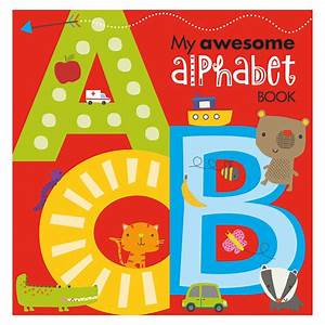 My Awesome Alphabet Book and Canvas  Make Believe Ideas UK