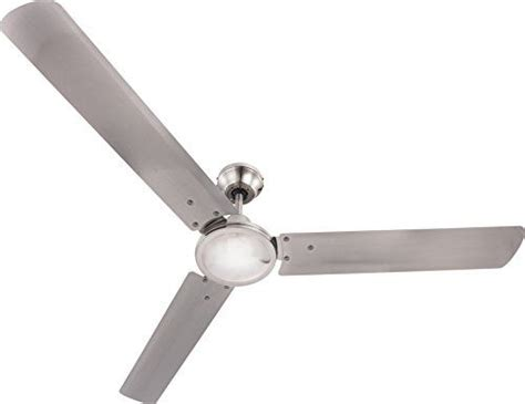 globo ceiling fan with brushed nickel blades amazon co uk