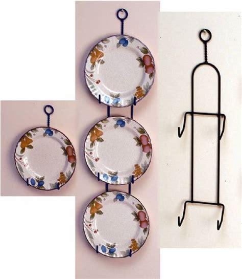 wrought iron plate hanger vertical    plates plate racks  hangers