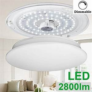 Le w dimmable daylight white inch led ceiling