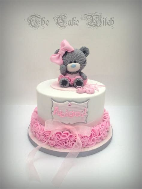 tatty teddy teddy bear ballerina birthday cake cute