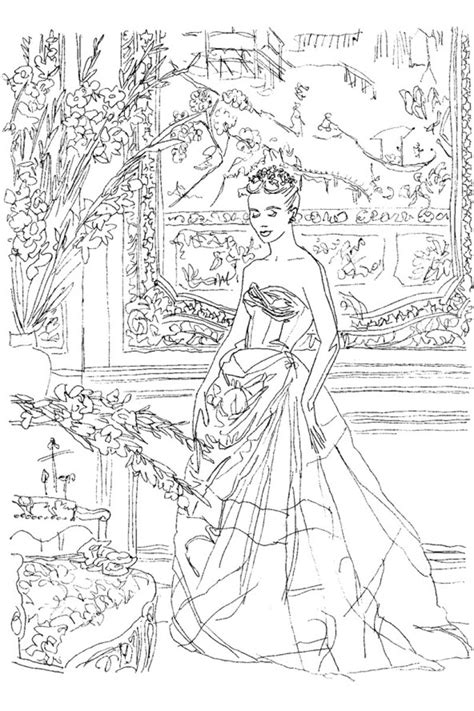 Coloring Book by Vogue Coloring Book Posh
