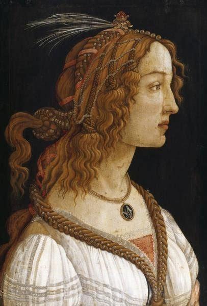 sandro botticelli portrait   young woman art print