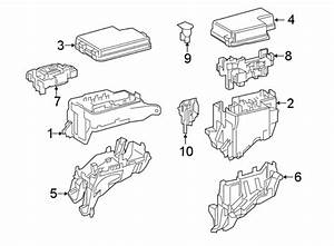 Toyota Rav4 Fusible Link  Compartment  Engine  Fuse