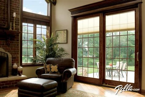 Glass sliding doors are a functional and stylish choice for any home. Window Treatments for Sliding Glass Doors 2020 IDEAS & TIPS