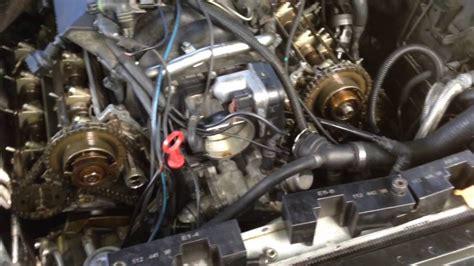 bmw mtu complete engine timing procedure  timing