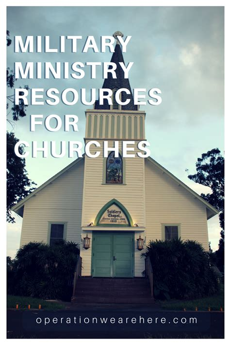 church military ministry resources