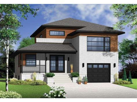 3 Bedroom Modern House Plans Picture — Modern House Plan