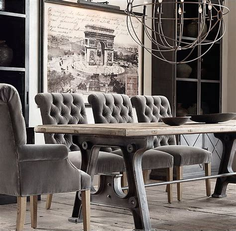 rhs factory trestle rectangular dining tableour tables