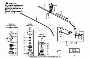 Poulan Gti15t Gas Trimmer Parts Diagram For Drive Shaft