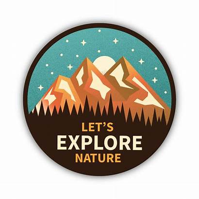 Nature Sticker Explore Stickers Let Aesthetic Mountain