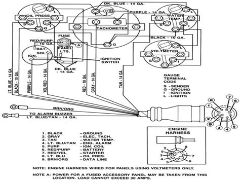 mercruiser wiring harness diagram wiring forums