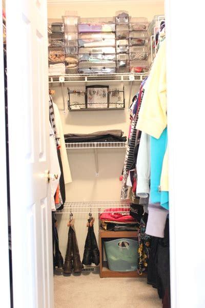 closet boot storage day 4