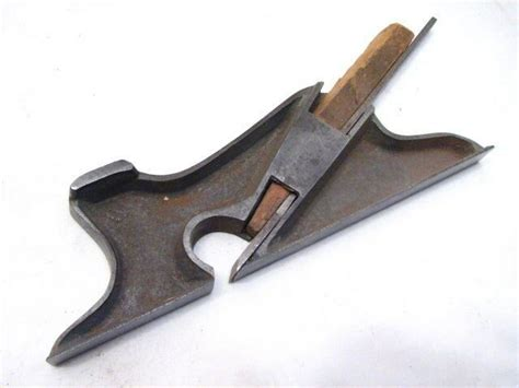 antique hand  cabinet makers side rabbet plane wood