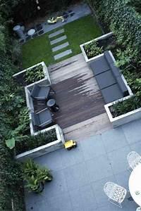 les 25 meilleures idees de la categorie terrasse en bois With amenager un jardin rectangulaire 2 terrasse de jardin moderne planification et conception