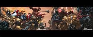 Avengers Dual Screen Wallpaper - WallpaperSafari