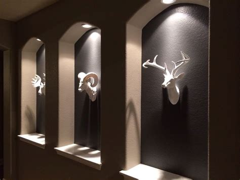 Taxidermy Home Decor: Faux Taxidermy Highlighted In Niches