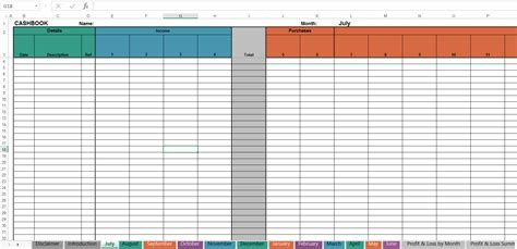 simple cash book spreadsheet db excelcom