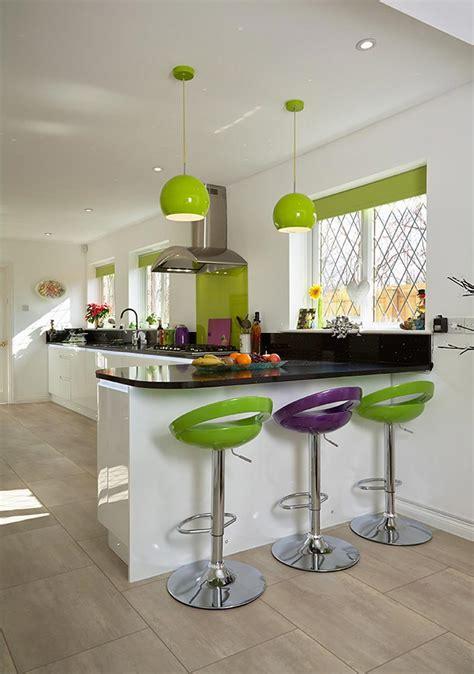deco cuisine vert décoration cuisine vert pomme déco sphair