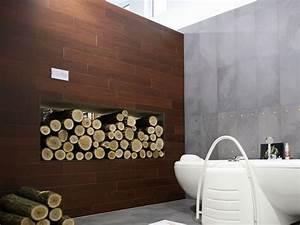 Wandfliesen Bad Holzoptik : wandgestaltung badezimmer ~ Markanthonyermac.com Haus und Dekorationen